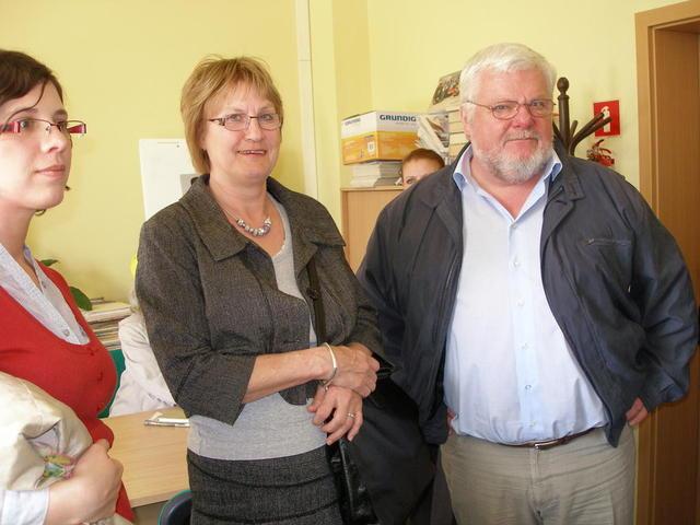Pracownicy Szkoły Kofoeda z wizytą w CISie na Zawadach